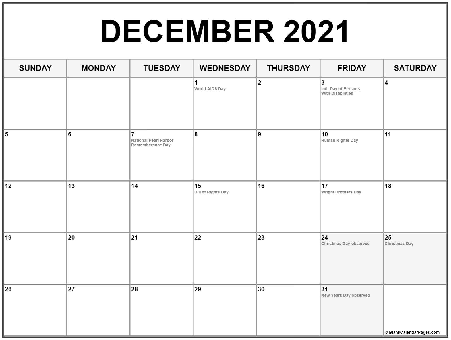 December 2021 Holiday Calendar   Printable March December 2020 January 2021 Calendar Australia
