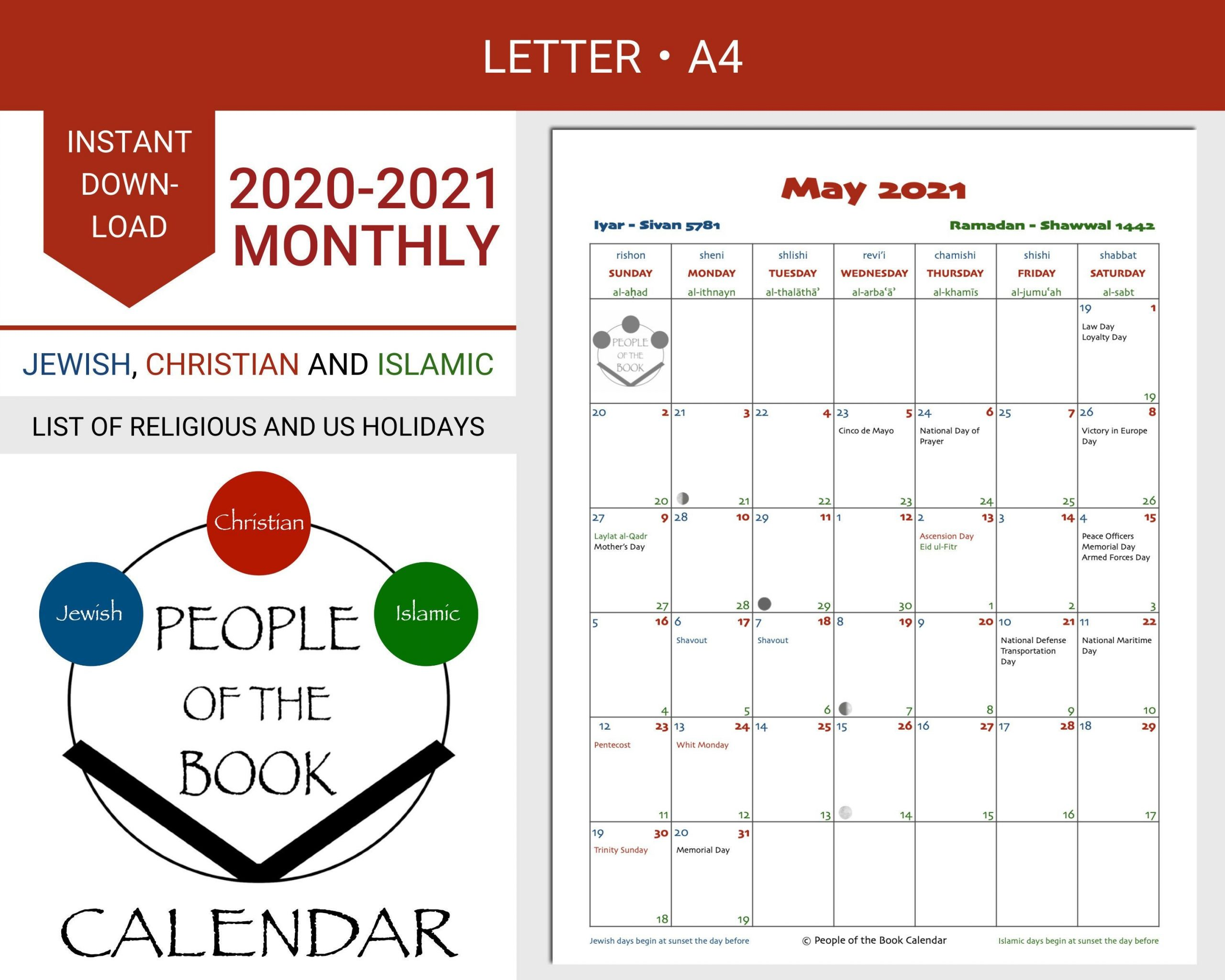 Pin On Printable Calendars: Jewish, Christian And Islamic December 2021 Islamic Calendar