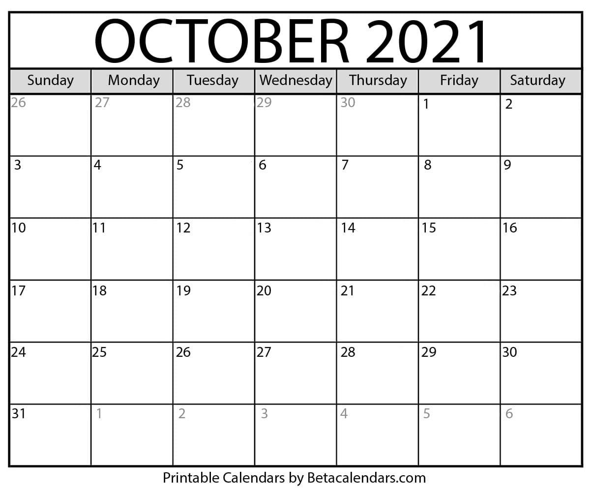 Printable October 2021 Calendar   Apache Openoffice Templates Show December 2021 Calendar