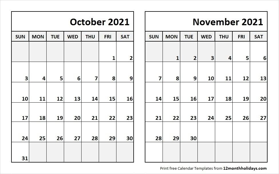 September October November 2021 Calendar | Qualads Calendar November 2020 Through April 2021